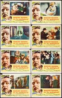 "On the Waterfront (Columbia, 1954). Lobby Card Set of 8 (11"" X 14""). Academy Award Winners. ... (Total: 8 Item..."