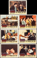 """Movie Posters:Drama, The Harder They Fall (Columbia, 1956). Lobby Cards (7) (11"""" X 14"""").Drama.. ... (Total: 7 Items)"""