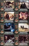 "Movie Posters:Horror, Jurassic Park II: The Lost World (Universal, 1997). InternationalLobby Card Set of 8 (11"" X 14""). Horror.. ... (Total: 8 Items)"
