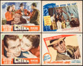 """Movie Posters:War, China & Others Lot (Paramount, 1943). Lobby Cards (4) (11"""" X14""""). War.. ... (Total: 4 Items)"""