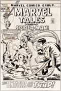 Original Comic Art:Covers, John Buscema and Frank Giacoia Marvel Tales #39 CoverSpider-Man Original Art (Marvel, 1972)....