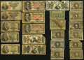 Fractional Currency:Fifth Issue, United States Fractional Currency - Lot of 63 Low Grade or DamagedNotes from all Five Issues.. ... (Total: 63 notes)