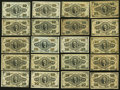 Fractional Currency:Third Issue, United States Fractional Currency - Lot of 20 Third Issue 10 Cents Notes.. ... (Total: 20 notes)