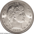 Barber Quarters: , 1908-S 25C MS65 NGC. Writing in 1994, David Lawrence (TheComplete Guide to Barber Quarters) states that the 1908-S is...