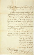 Autographs:Statesmen, Anson Jones Manuscript Document Signed ...