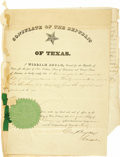 Autographs:Statesmen, William Bryan Partially Printed Document Signed...