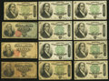 Fractional Currency:Fourth Issue, United States Fractional Currency - Lot of 12 Fourth Issue 50 Cents Notes.. ... (Total: 12 notes)