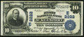National Bank Notes:Pennsylvania, McKeesport, PA - $10 1902 Plain Back Fr. 631 The First NB Ch. #(E)2222. ...