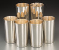 Silver Holloware, American:Cups, Twenty-Four Tiffany & Co. Silver Tumblers. Post-1965. StampedTIFFANY & CO, MAKERS, STERLING SILVER, 22876. Ht. 5-1/4 in...(Total: 24 Items)