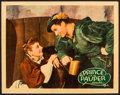 """Movie Posters:Swashbuckler, The Prince and the Pauper (Warner Brothers, 1937). Linen Finish Lobby Card (11"""" X 14""""). Swashbuckler.. ..."""