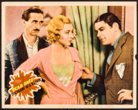 """Scarface (United Artists, 1932). Trimmed Lobby Card (11"""" X 13.75""""). Crime"""