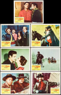 "Movie Posters:Adventure, The Sign of Zorro (Buena Vista, 1960). Lobby Cards (7) (11"" X 14"").Adventure.. ... (Total: 7 Items)"