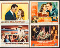 "Movie Posters:Adventure, The High and the Mighty & Others Lot (Warner Brothers, 1954). Lobby Cards (4) (11"" X 14""). Adventure.. ... (Total: 4 Items)"
