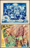 "Movie Posters:Action, King of the Jungle & Other Lot (Paramount, 1933). LobbyCards(2) (11"" X 14""). Action.. ... (Total: 2 Items)"