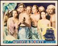 "Movie Posters:Academy Award Winners, Mutiny on the Bounty (MGM, 1935). Lobby Card (11"" X 14""). AcademyAward Winners.. ..."