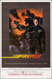 "Firefox (Warner Brothers, 1982). One Sheet (27"" X 41"") Advance. Action"