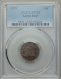 Bust Dimes: , 1821 10C Large Date VF35 PCGS. PCGS Population: (32/200). NGCCensus: (1/149). Mintage 1,186,512. ...
