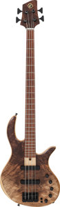 Musical Instruments:Bass Guitars, Circa 2000's Elrick E-Volution Natural Electric Bass Guitar....