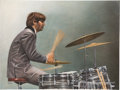 Music Memorabilia:Memorabilia, Beatles - Backbeat Original Oil Painting by Eric Cash....