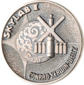 Explorers:Space Exploration, Skylab I (SL-2) Unflown Silver Robbins Medallion, Serial Number249. ...