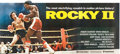 "Movie Posters:Sports, Rocky II (United Artists, 1979). 24 Sheet (104"" X 232"").. ..."