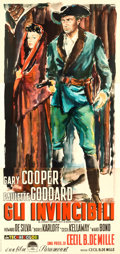 "Movie Posters:Adventure, Unconquered (Paramount, 1949). First Release Italian Three Sheet(54.5"" X 115.75"") Ercole Brini Artwork.. ..."