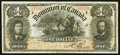 Canadian Currency: , Series R DC-13c $1 1898.. ...