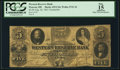 Obsoletes By State:Ohio, Warren, OH- Western Reserve Bank $5 Aug. 26, 1861 C64 Wolka 2741-34Counterfeit. ...