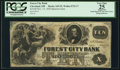 Obsoletes By State:Ohio, Cleveland, OH- Forest City Bank $10 Nov. 15, 1858 S5 Wolka 0732-17Spurious Issue. ...