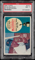 Baseball Cards:Singles (1960-1969), 1960 Topps Willie McCovey #316 PSA NM 7....