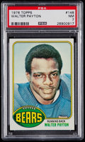 Football Cards:Singles (1970-Now), 1976 Topps Walter Payton #148 PSA NM 7....