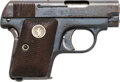 Handguns:Semiautomatic Pistol, Colt Model 1908 Pocket Semi-Automatic Pistol....
