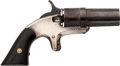 "Handguns:Derringer, Palm, Continental Arms Co. ""Ladies Companion"" Pepperbox Pistol...."