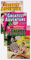 Silver Age (1956-1969):Adventure, My Greatest Adventure Group of 5 (DC, 1956-59) Condition: Average VG-.... (Total: 5 Comic Books)
