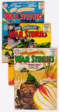 Golden Age (1938-1955):War, Star Spangled War Stories Group of 6 (DC, 1955-59) Condition:Average VG-.... (Total: 6 Comic Books)