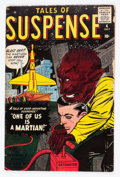 Silver Age (1956-1969):Science Fiction, Tales of Suspense #4 (Marvel, 1959) Condition: VG-....