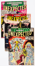 Silver Age (1956-1969):Horror, Tales of the Unexpected Group of 9 (DC, 1957-60).... (Total: 9Comic Books)