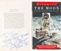Autographs:Celebrities, Buzz Aldrin Signed Books: Andrew Chaikin's A Man On The Moon[and] Frommer's The Moon, A Guide For First-Tim... (Total: 2Items)
