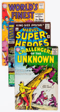 Silver Age (1956-1969):Superhero, DC/Marvel Silver-Modern Age Comics Group of 45 (DC/Marvel, 1956-83) Condition: Average VG.... (Total: 45 Comic Books)
