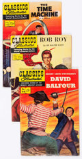 Golden Age (1938-1955):Classics Illustrated, Classics Illustrated Group of 12 (Gilberton, 1949-56) Condition:Average VG.... (Total: 12 Comic Books)