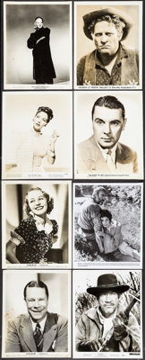 "Hollywood Photo Lot (1930s-1970s). Photos (200+) (Approx. 8"" X 10""). Miscellaneous. ... (Total: 200 Items)"