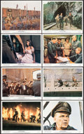"""Movie Posters:War, Von Ryan's Express (20th Century Fox, 1965). Color Photo Set of 12& Photos (14) (Approx. 8"""" X 10""""). War.. ... (Total: 26 Items)"""