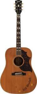 Musical Instruments:Acoustic Guitars, Circa 1965-66 Gibson Country Western Natural Acoustic Guitar, Serial #364886....