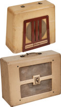 Musical Instruments:Amplifiers, PA, & Effects, Circa 1950s Pair of Gibson BR-9 Tan Guitar Amplifiers, Serial #10890.... (Total: 2 )