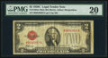 Small Size:Legal Tender Notes, Fr. 1504 $2 1928C Mule Legal Tender Note. B-A Block. PMG Very Fine 20.. ...