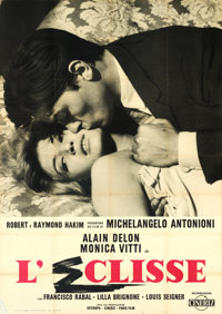 "The Eclipse (Cineriz, 1962). Italian 4 - Fogli (55"" X 78"")"