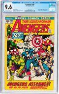 Bronze Age (1970-1979):Superhero, The Avengers #100 (Marvel, 1972) CGC NM+ 9.6 Off-white to white pages....