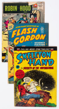 Comics Books - Assorted Golden and Silver Age Adventure Group of 48 (Various Publishers, 1950-68) Condition: Average GD...