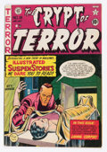 Golden Age (1938-1955):Horror, Crypt of Terror #18 (EC, 1950) Condition: Apparent VG+....