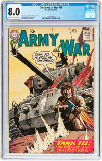 Our Army at War #86 (DC, 1959) CGC VF 8.0 Cream to off-white pages